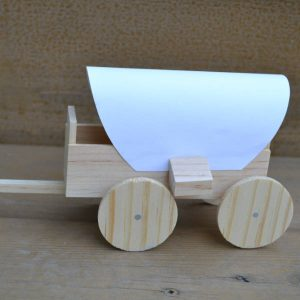 Covered Wagon Model Kit-0