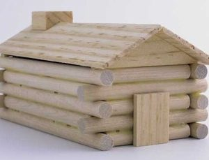 Log Cabin Model Kit-0